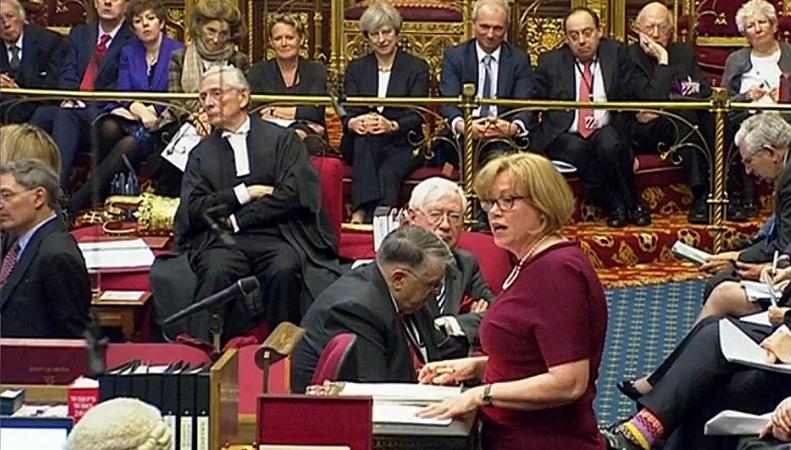 Тереза Мэй призвала пэров принять Билль о Брекзите без новых поправок фото:metro.co.uk