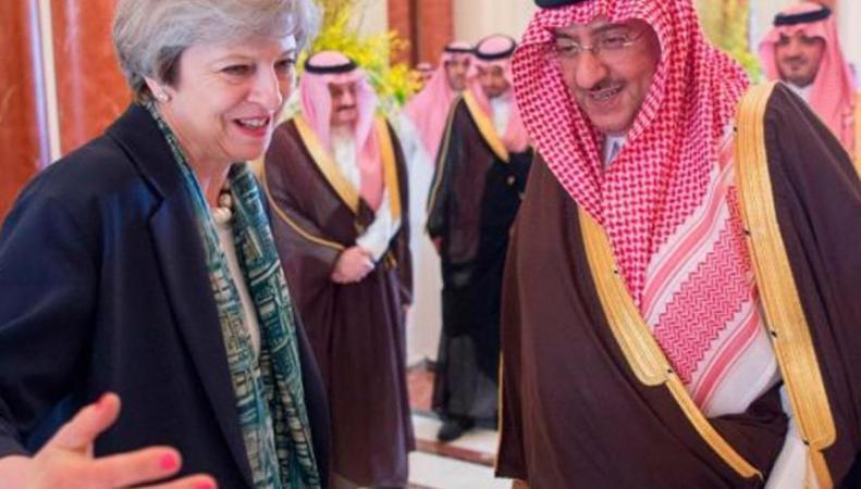 Тереза Мэй отказывается предать огласке отчет о финансировании террористов саудитами