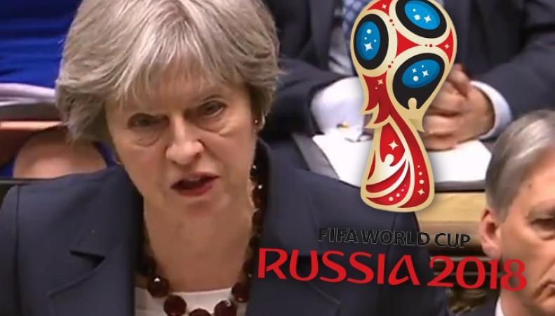 Российские чиновники пригласили Терезу Мэй на финальные матчи с участием Англии