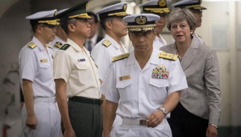 Британия упрочит военное сотрудничество с Японией перед лицом  северокорейской угрозы фото:standard.co.uk