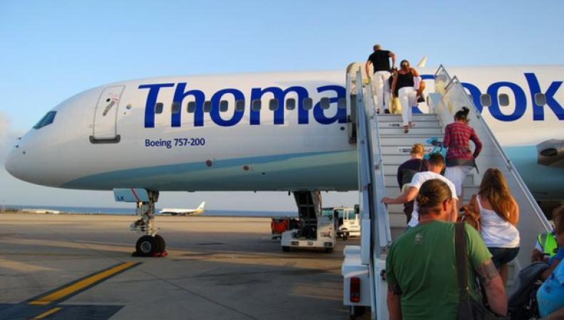 Летный персонал Thomas Cook устроит забастовку в «высокий сезон» фото:theguarrdian.com