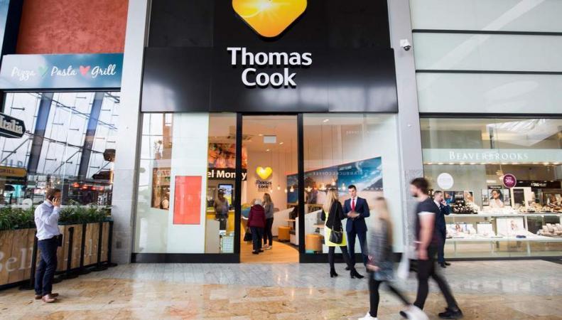 Туристическая авиакомпания Thomas Cook выставлена на продажу