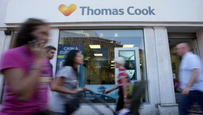 Акции Thomas Cook обвалились на 60% за восемь дней