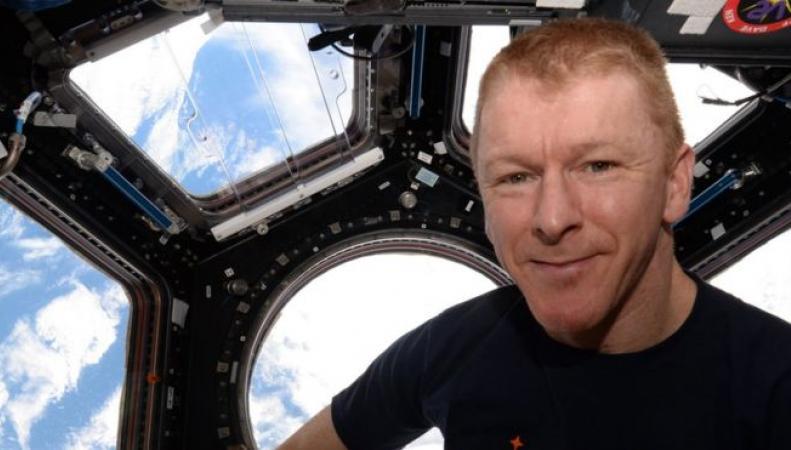 Британский астронавт Тим Пик возвращается на Землю фото:bbc.com