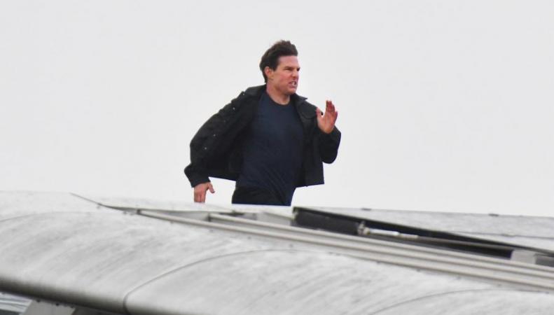 Том Круз выполнил каскадерский трюк на лондонском мосту