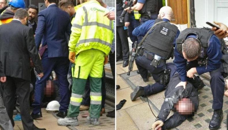 Бандита на мопеде обезвредили простые лондонцы фото:standard.co.uk