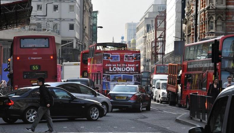Городской экологический сбор с владельцев дизельных авто введут во всей Великобритании фото:theguardian.com
