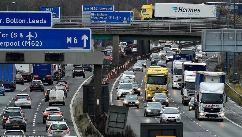 В Великобритании начался «Большой рождественский исход» туристов фото:dailymail.co.uk