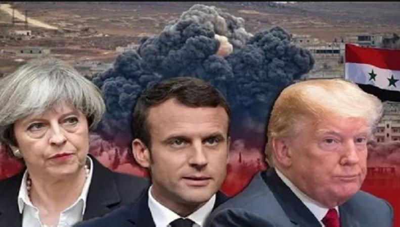 США, Великобритания и Франция не смогли принять общее решение об ударе по Сирии