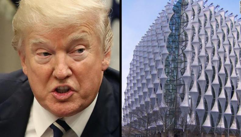 Трамп отменил запланированный визит в Лондон