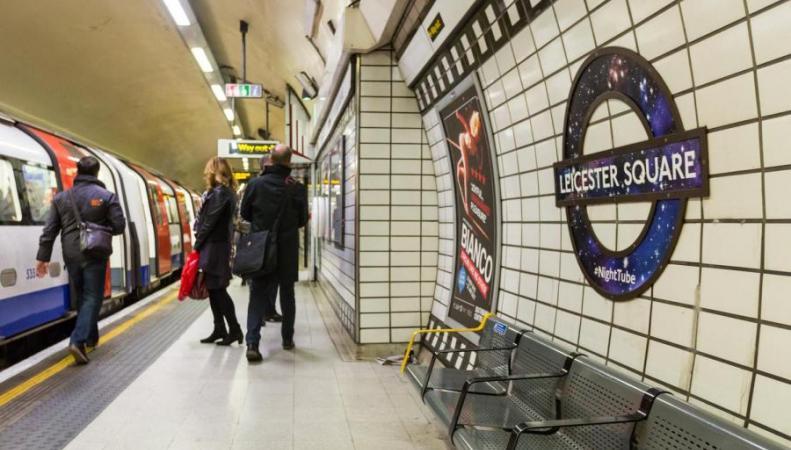 Как работает общественный транспорт в Лондоне в Новогоднюю ночь