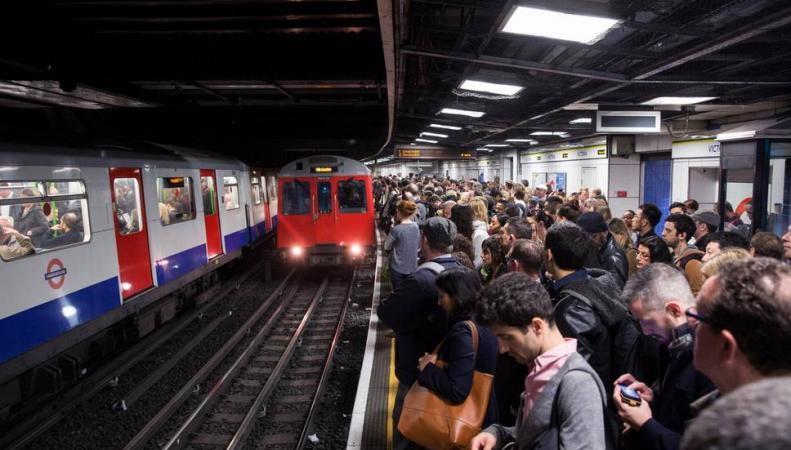 Названа линия лондонского метро с самыми частыми поломками