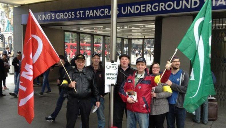 Профсоюзам метрополитена и железных дорог в Лондоне запретят объявлять забастовки  фото:bbc