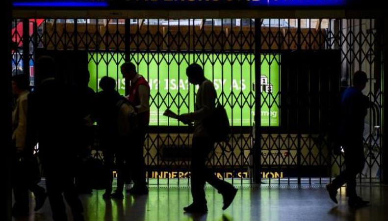 Встолице Англии ввоскресенье начнется забастовка работников метро