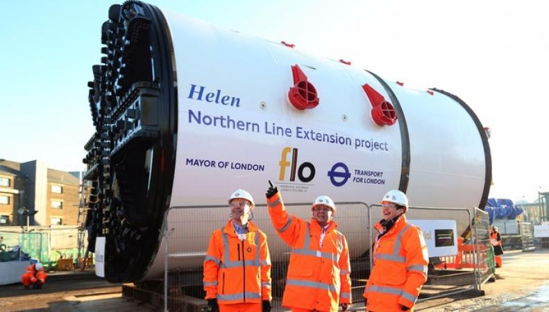 Работы по продлению линии метро Northern в Лондоне начнутся в марте фото:itv.com