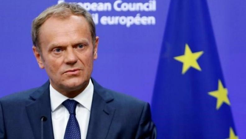 Дональд Туск назвал сроки и условия начала торговых переговоров  с Великобританией фото:reuters