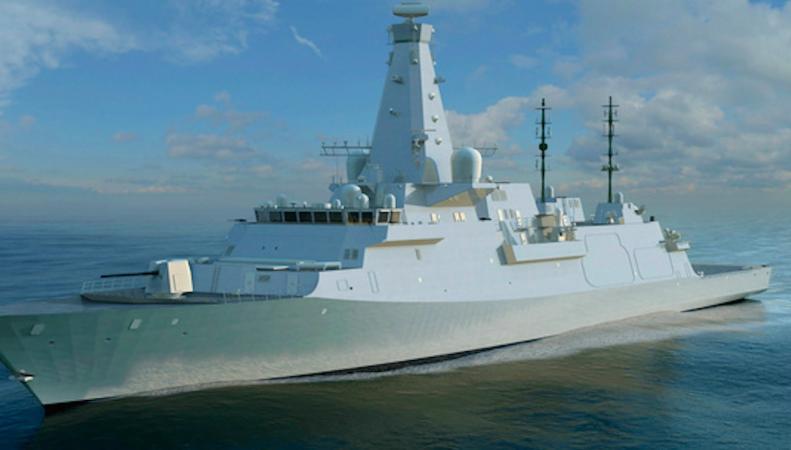 Шотландия поставит на вооружение ВМФ военный крейсер нового поколения фото:uk.businessinsider.com