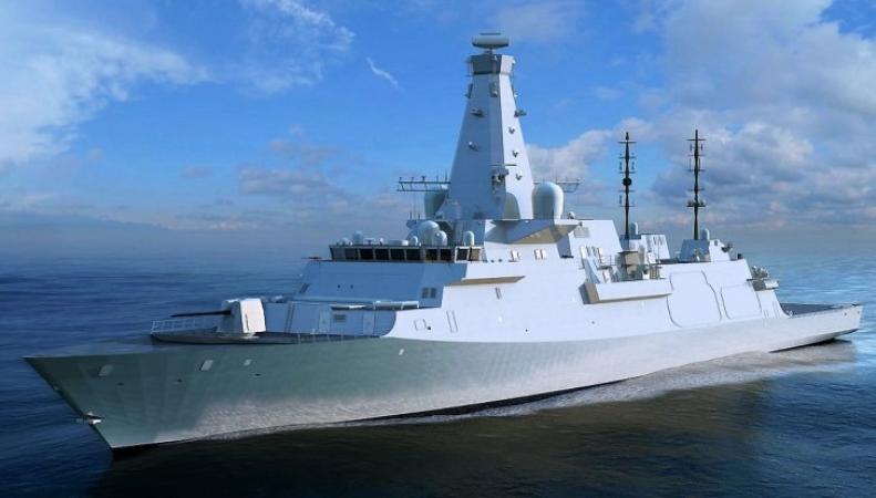 Британское министерство обороны подписало контракт на строительство трех фрегатов фото:defencenews.com