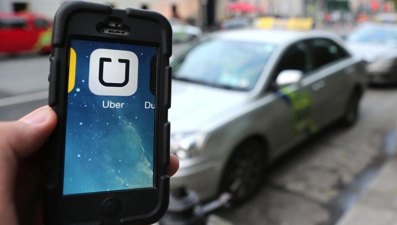 Uber в Лондоне