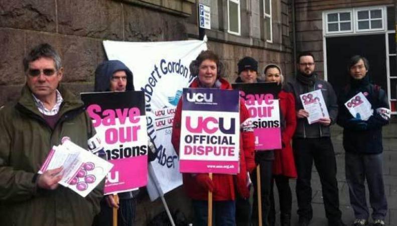 Британские университеты начали двухдневную забастовку фото:stv.tv