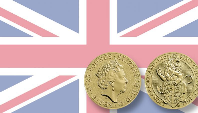 инвестиционные монеты Королевского монетного двра