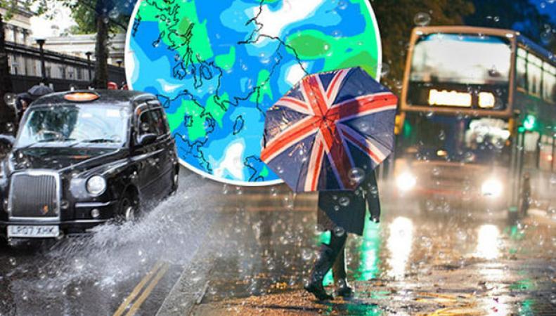 Погода в Великобритании: синоптики объявили желтый уровень опасности