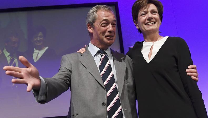 Дайан Джеймс избрана лидером английской Партии независимости