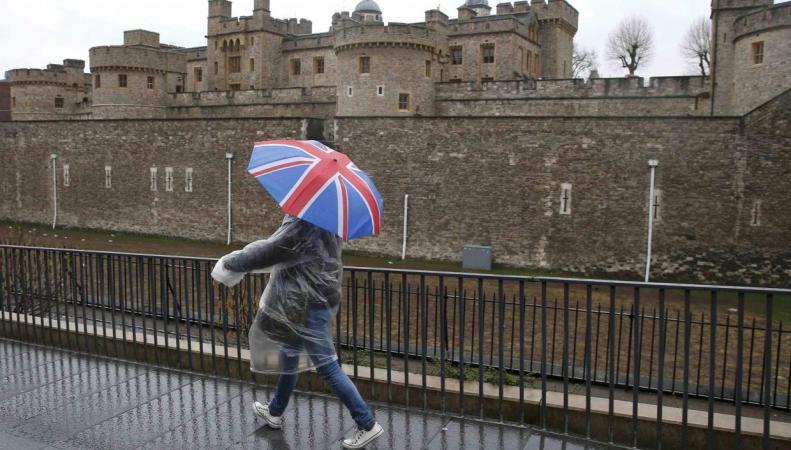 В Лондоне резко испортилась погода фото:standard.co.uk
