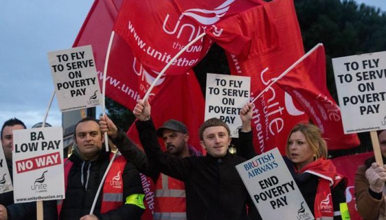 Летные экипажи British Airways продолжат забастовку, несмотря на ее безрезультатность фото:getwestlondon