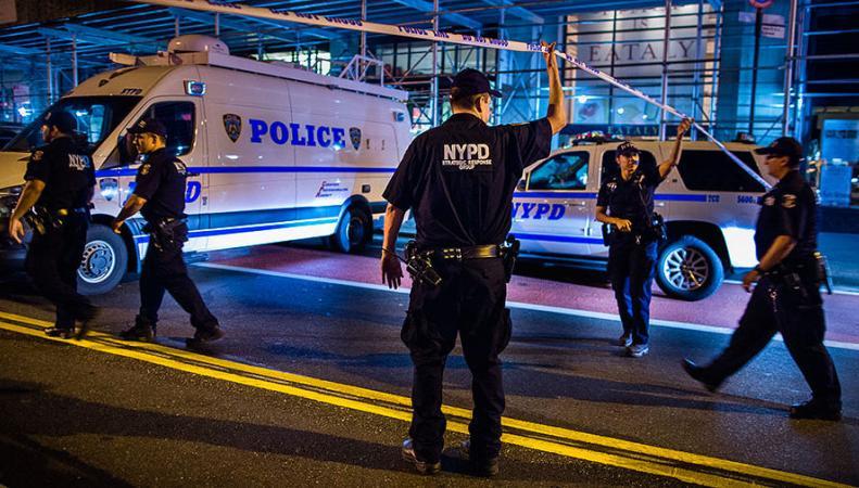 Взрыв в Нью-Йорке 17 сентября 2016 года
