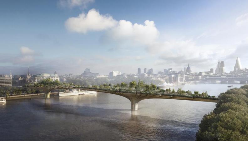 Проект моста Garden Bridge официально закрыт
