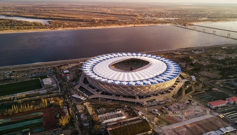 Стадионы ЧМ-2018 по футболу показали из космоса