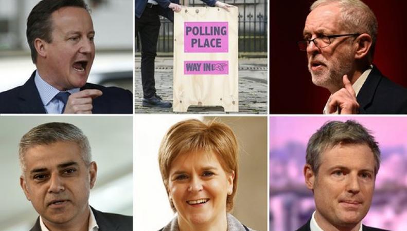 Большой Четверг: в Великобритании проходят региональные выборы фото:theguardian.com