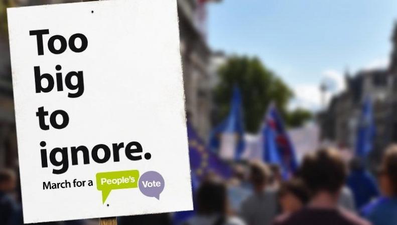В Лондоне состоится крупнейший марш против Брекзита