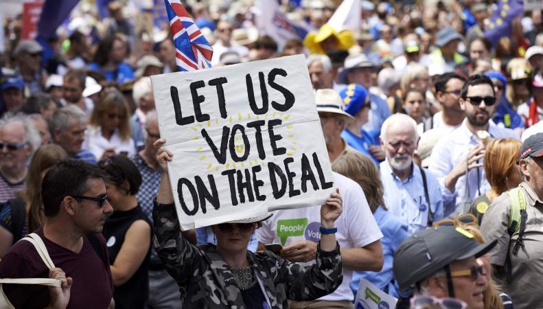 Решение о повторном референдуме отложит Брекзит «в долгий ящик»