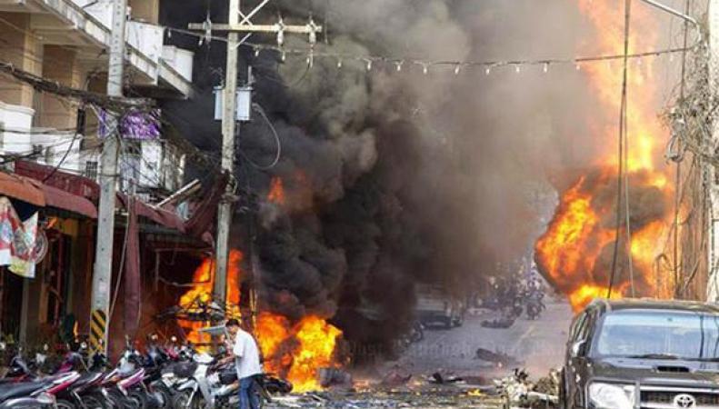 Посольство Китая: Китайские жители непострадали при взрывах вХуахине