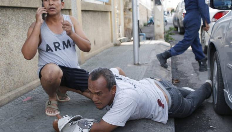 Британцы пострадали во время взрывов в Таиланде