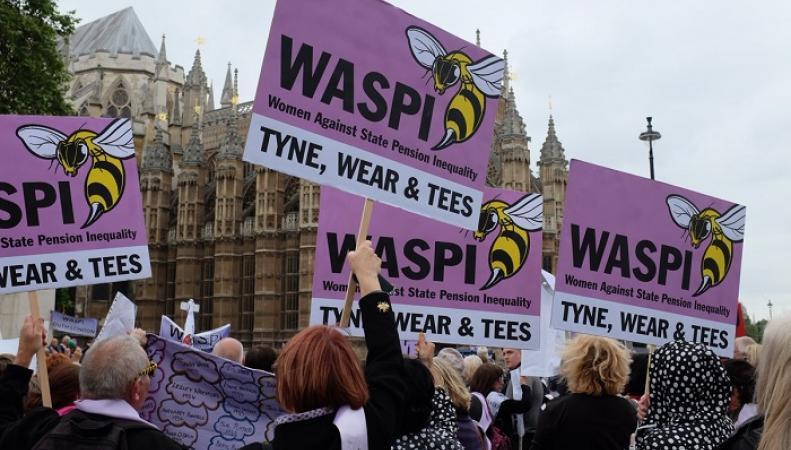 Женщины Шотландии выйдут на акции протеста против пенсионной политики государства