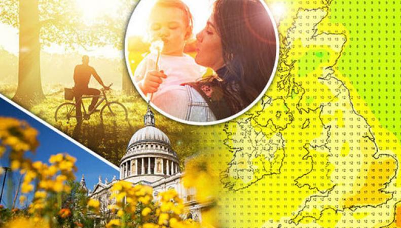 Завтра весна возвращается в Великобританию
