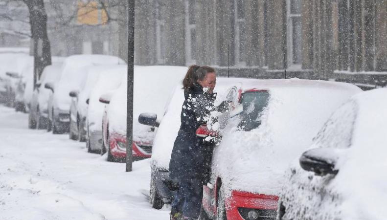 Весна задерживается: британские синоптики снова пообещали снег