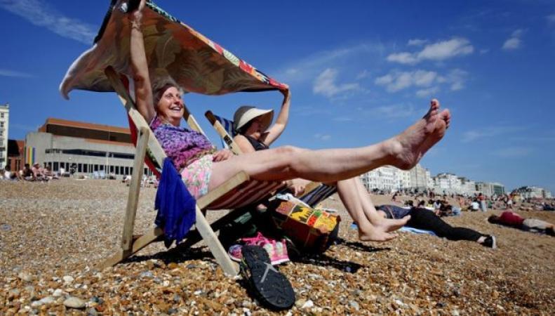 Метеобюро Великобритании предупредило о нетипичной жаре фото:bbc.com