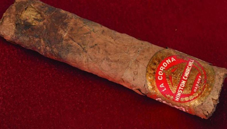 Недокуренная сигара Черчилля продана на аукционе фото:independent