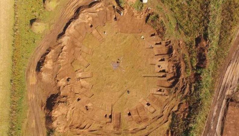 В Йоркшире обнаружен деревянный аналог Стоунхенджа
