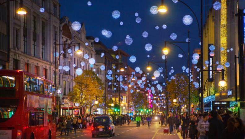 Случится ли  в Великобритании Белое Рождество? фото:aoltravel uk