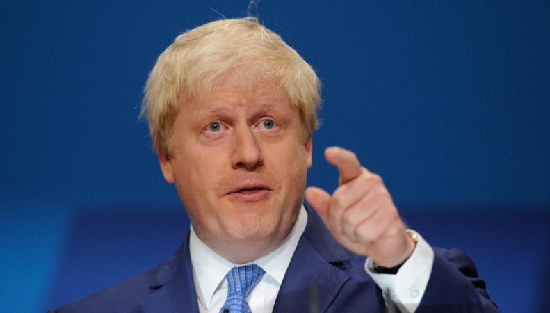 Борис Джонсон выступил с обвинениями в адрес России