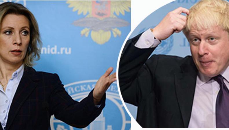 Захарова посоветовала Борису Джонсону использовать шапку-невидимку для защиты от российских СМИ