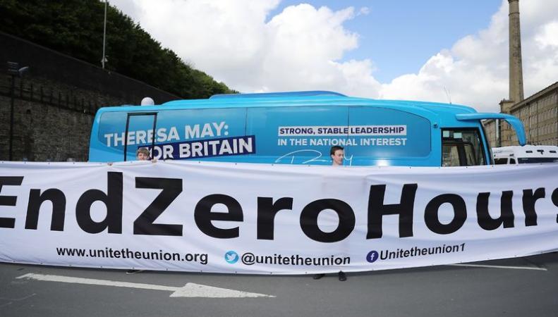 В экономике Великобритании снова увеличилась доля нулевых контрактов