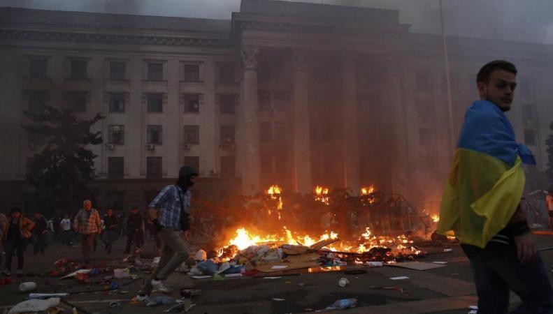 Очевидцы трагических событий в Одессе, покажут выставку в странах Европы