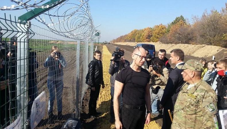 """Правительство Украины не сумеет достроить """"Стену"""" на границе с Россией"""