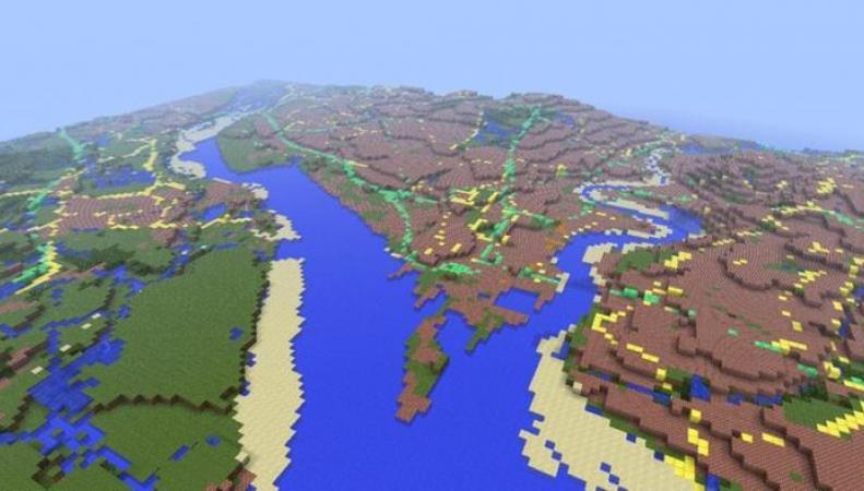 Великобритания в Minecraft